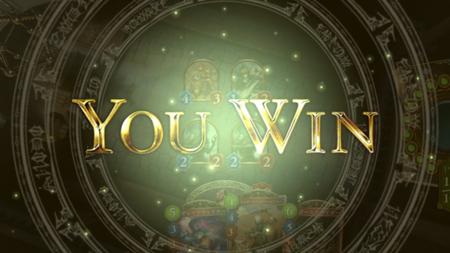 シャドウバースの勝利画面